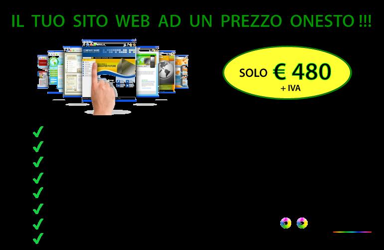 Immagine promozione sito web