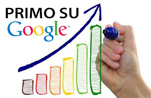 Grafico per indicizzazione e posizionamento un sito web.